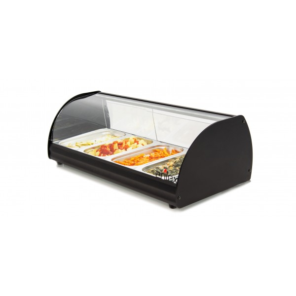 Illuminated Hot Display Cabinet ARILEX with 4 trays GN1/3-40 4CTL