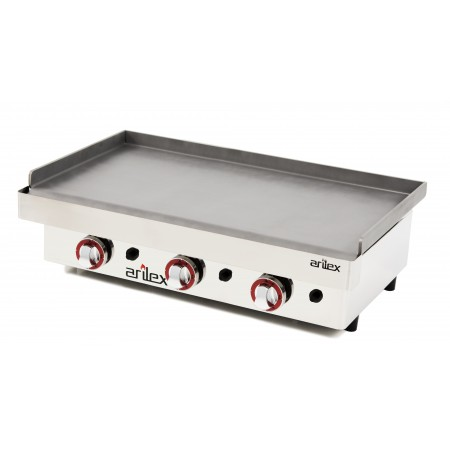 Gas Griddle  6 mm. thick with measures 810x457x240h mm 80PGL