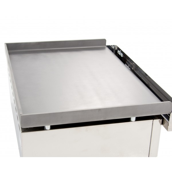 Gas Griddle 6 mm. thick with measures 1210x457x240h mm 120PGL