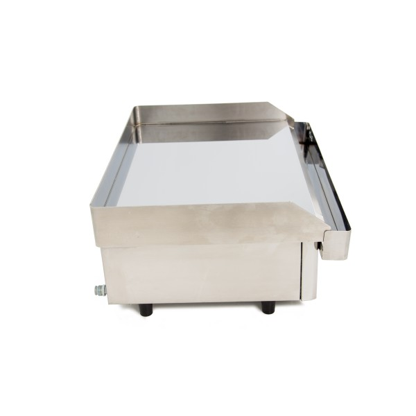 Hard Chromed Gas Griddle 6 mm. thick with measures 610x457x240h mm 60PGC Griddle