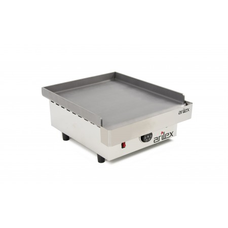 ARILEX electric griddle in 6 mm laminated steel with measures 410x457x240h mm 40PEL