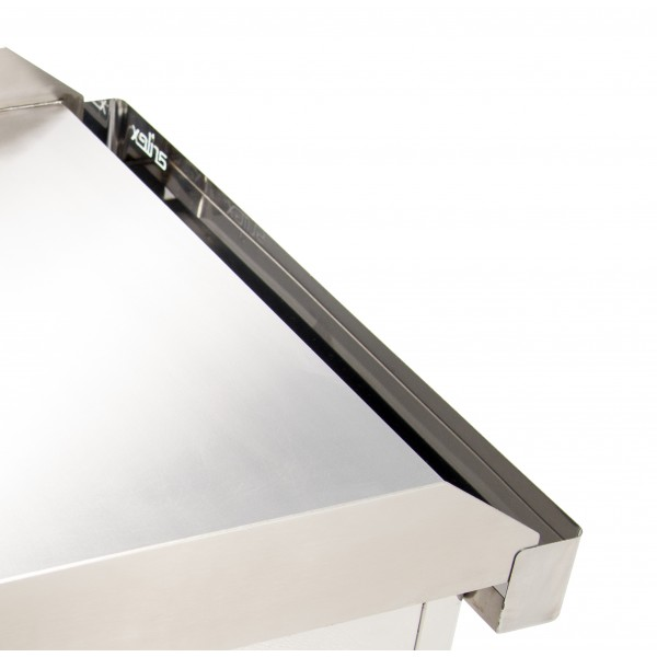 ARILEX electric griddle in 6 mm rectified steel with measures  810x457x240h mm 80PER