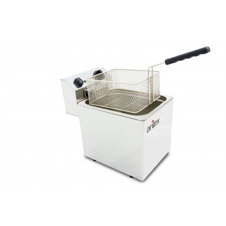 10L  and 3,5kW Monofasic EVOLUTION Electric Fryer with Contactor and Without Tap EVO10