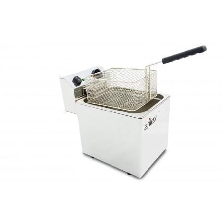 Freidora eléctrica EVOLUTION sin grifo capacidad 10 litros con potencia 3,5 kw monofásica con contactor EVO10