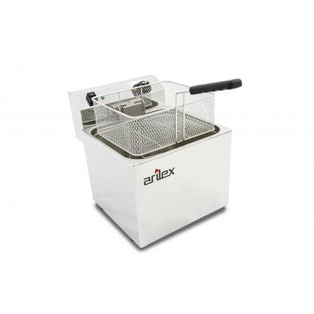 Freidora eléctrica EVOLUTION sin grifo capacidad 12 litros con potencia 4,5  kw monofásica con contactor EVO12