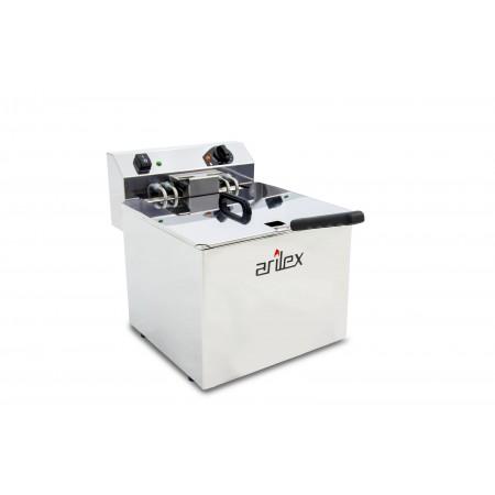 Freidora eléctrica EVOLUTION sin grifo capacidad 12 litros con potencia 7,5 kw trifásica con contactor EVO12TR