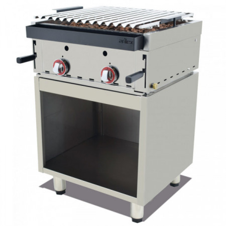 Stainless Steel Furniture for Gas Barbacue of 340x510x600h mm 35MBAR