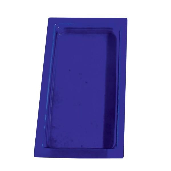 Cubeta cristal color azul GN1/3-40 mm GN-AZ