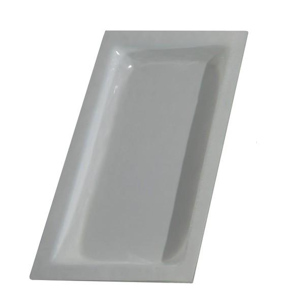 Cubeta cristal color blanco GN1/3-40 mm GN-BL