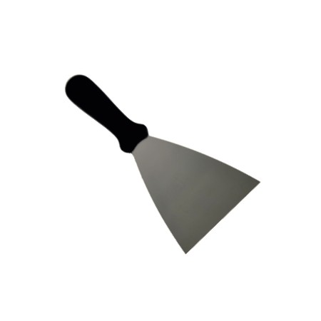 Flat iron spatula 10 cm. flexible blade 9200.1