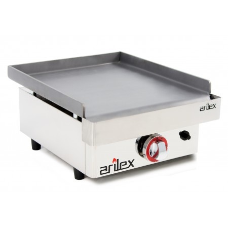 Gas Griddle 6 mm. thick with measures 410x457x240h mm 40PGL