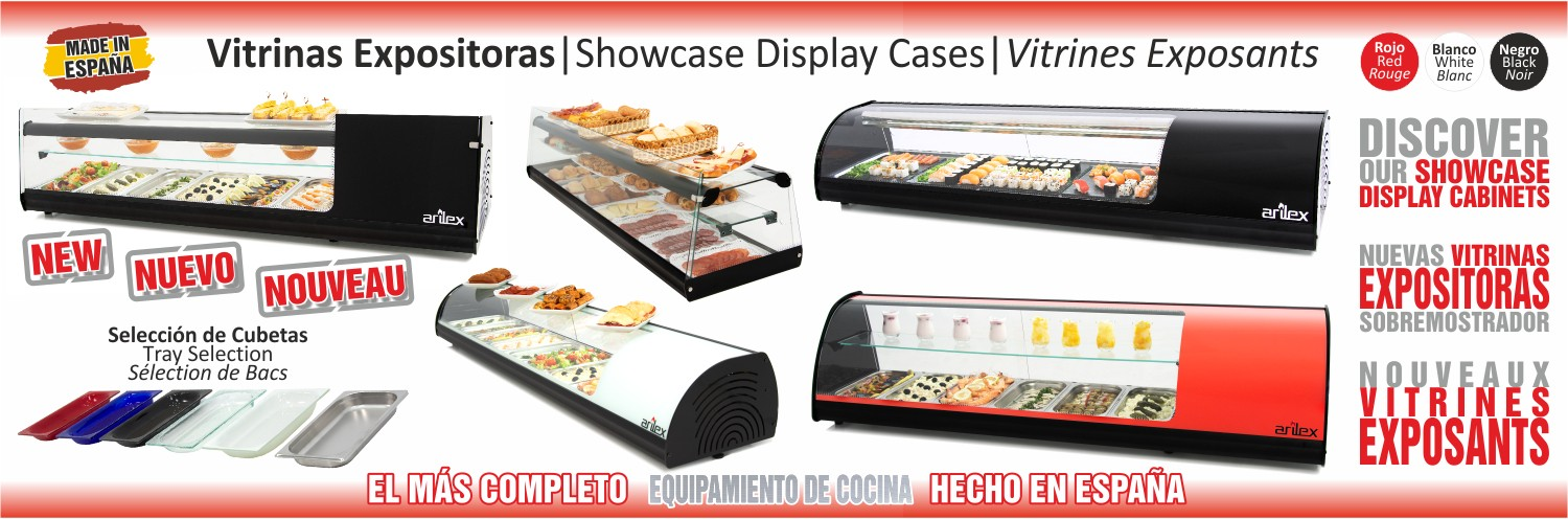 Showcase Display Cabinet Arilex